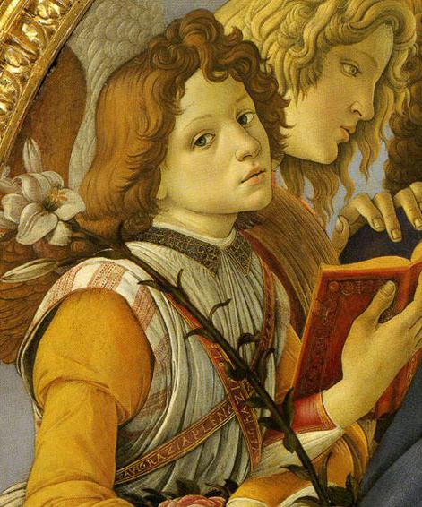blog image angel young man singing