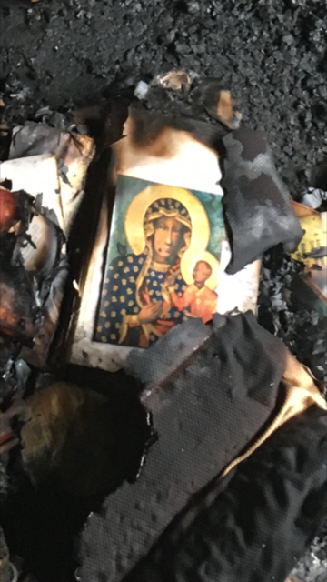 Our Lady of Perpetual Help, after fire