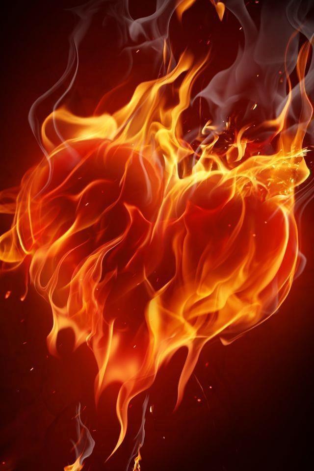 fiery heart
